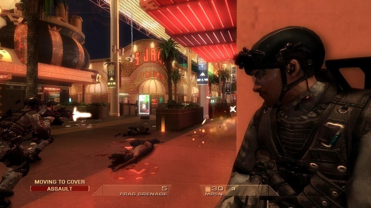 Скриншот Tom Clancy's Rainbow Six: Vegas  (2006) PC