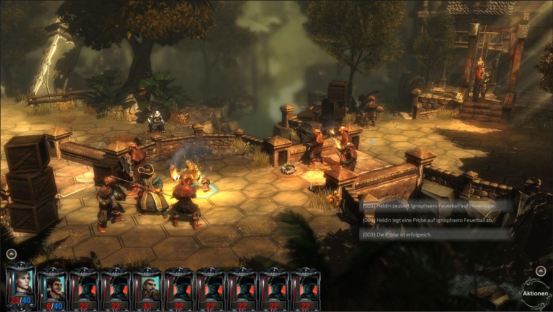 Скриншот Blackguards: Deluxe Edition (2014) PC | RePack от R.G. Механики