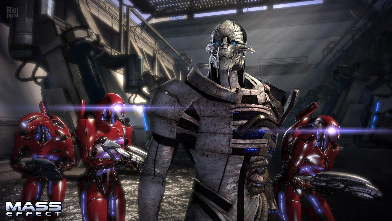 Скриншот Mass Effect [v.1.02] (2008) PC