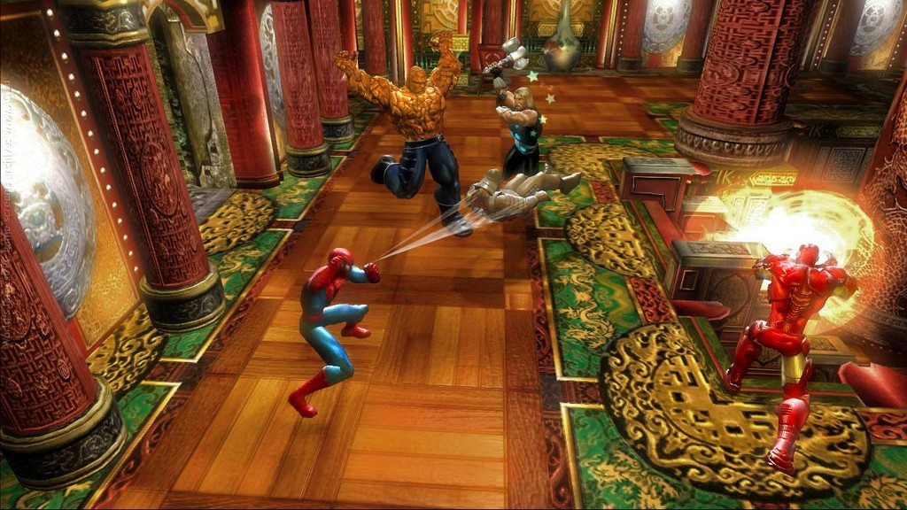 Скриншот Marvel: Ultimate Alliance (2006) PC