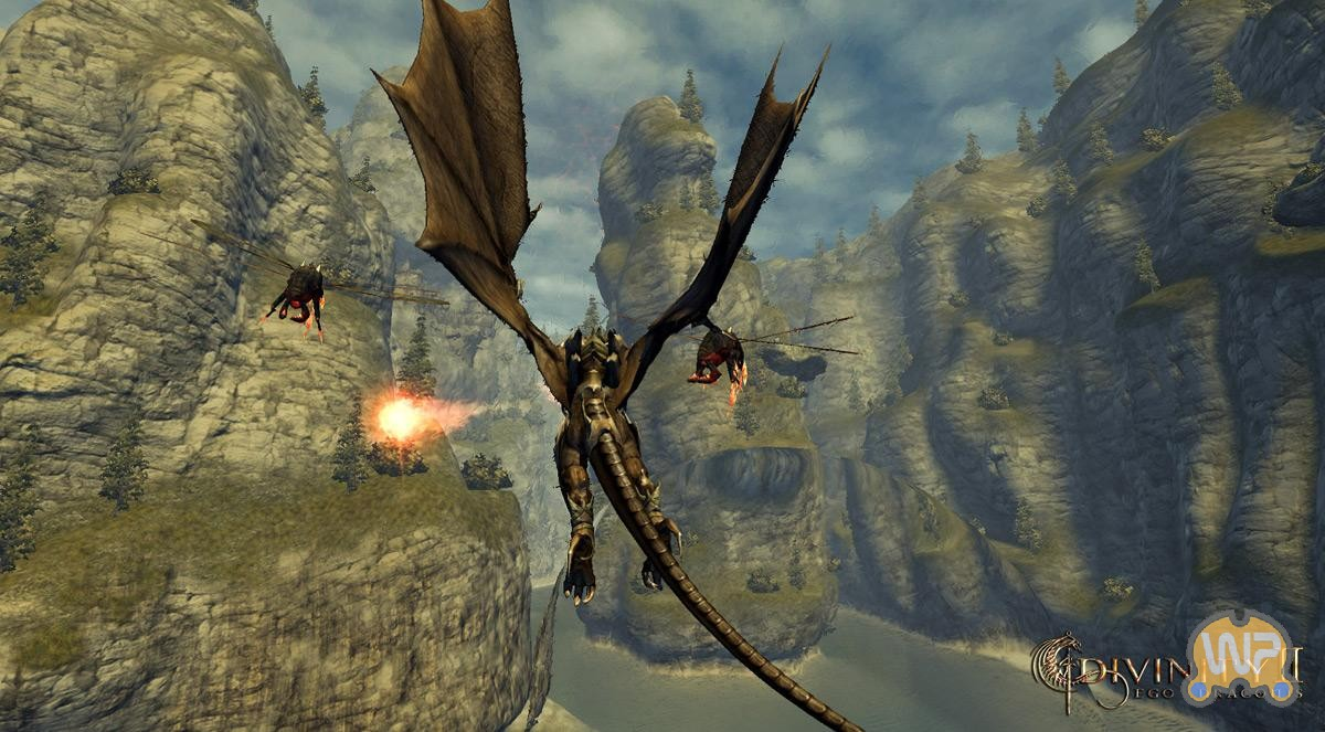 Скриншот Divinity II: Ego Draconis (2009) PC