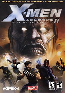 X-Men Legends II: Rise of Apocalypse (2005) РС