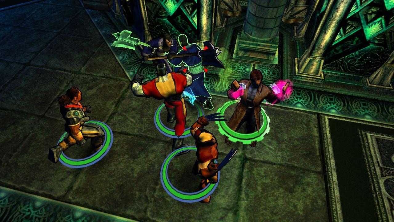 Скриншот X-Men Legends II: Rise of Apocalypse (2005) РС