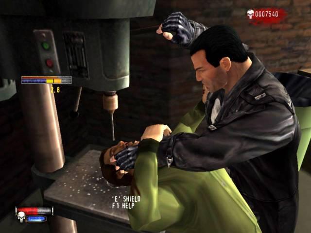 Скриншот The Punisher (2005) PC