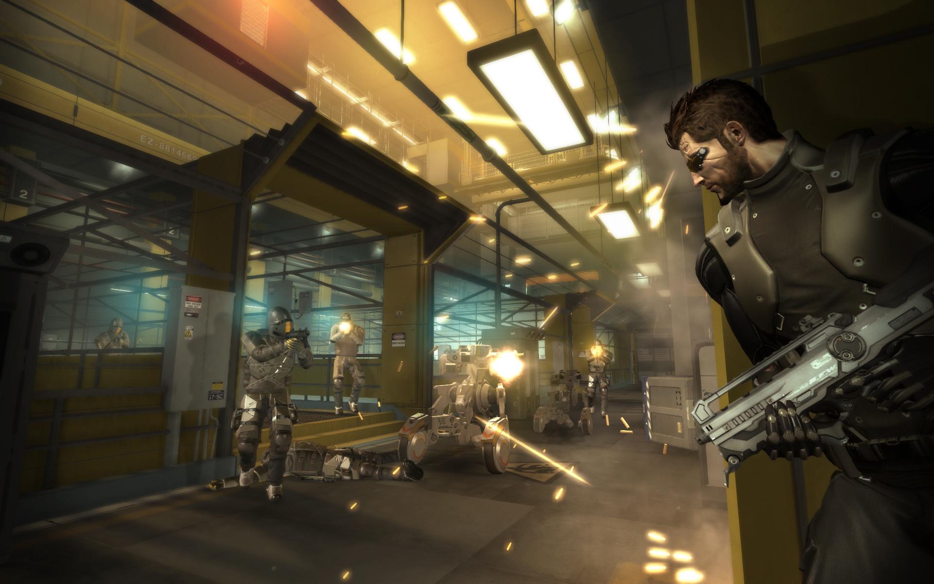 Скриншот Deus Ex: Human Revolution - Director's Cut Edition (2013) PC