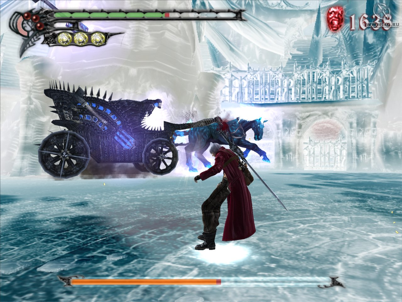 Скриншот Devil May Cry 3: Dante's Awakening - Special Edition (2007) PC
