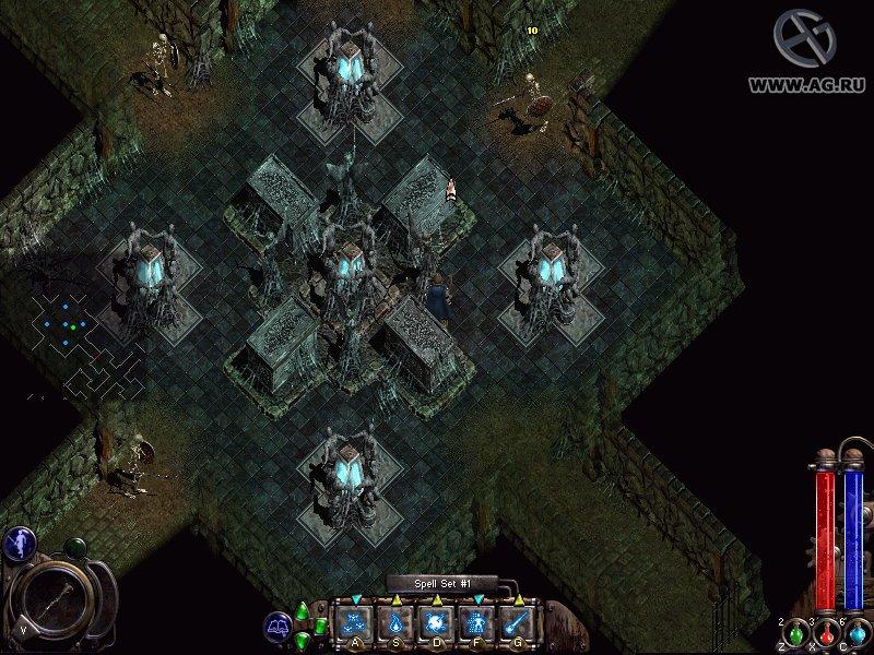 Скриншот Nox (2000) PC