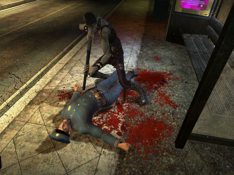 Скриншот Vampire: The Masquerade Bloodlines [v.9.5] (2004) PC