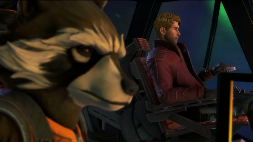 Скриншот Marvel's Guardians of the Galaxy: The Telltale Series - Episode 1-5 (2017) PC