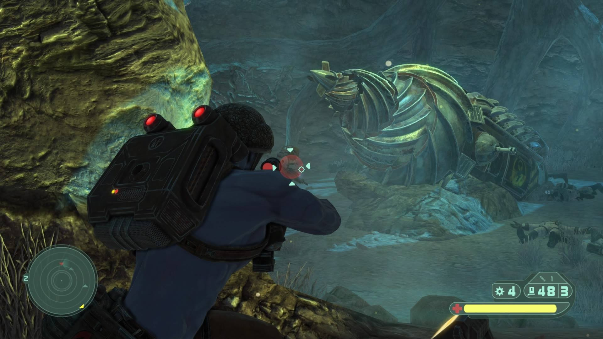 Скриншот Rogue Trooper Redux  (2017) PC