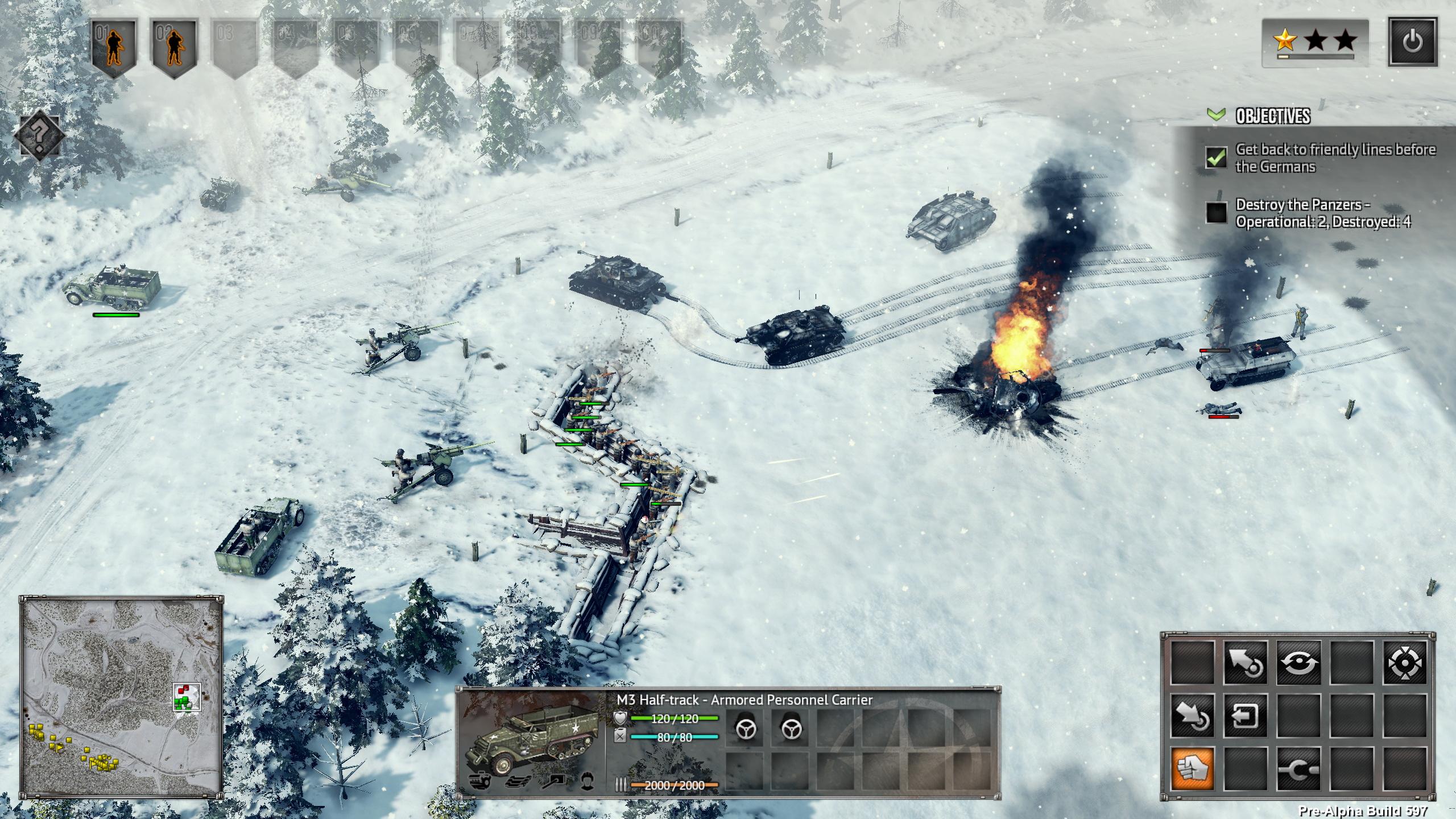 Скриншот Sudden Strike 4  (2017) PC