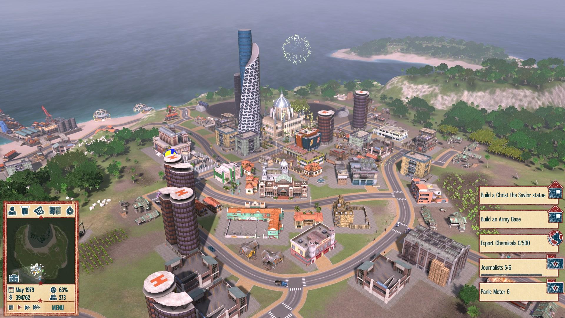 Скриншот Tropico 4 (2011) PC