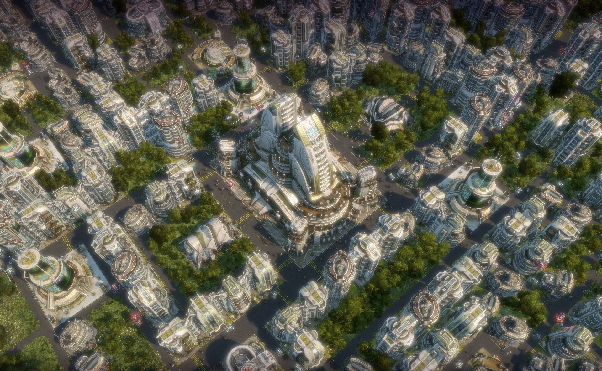 Скриншот Anno 2070 (2011) PC