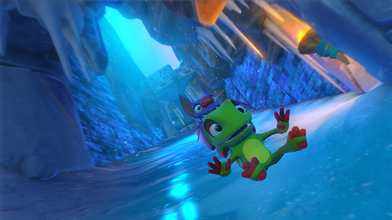 Скриншот Yooka-Laylee: Digital Deluxe Edition  (2017) PC