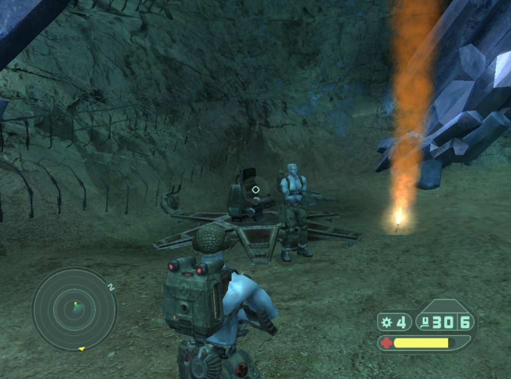 Скриншот Rogue Trooper (2006) PC