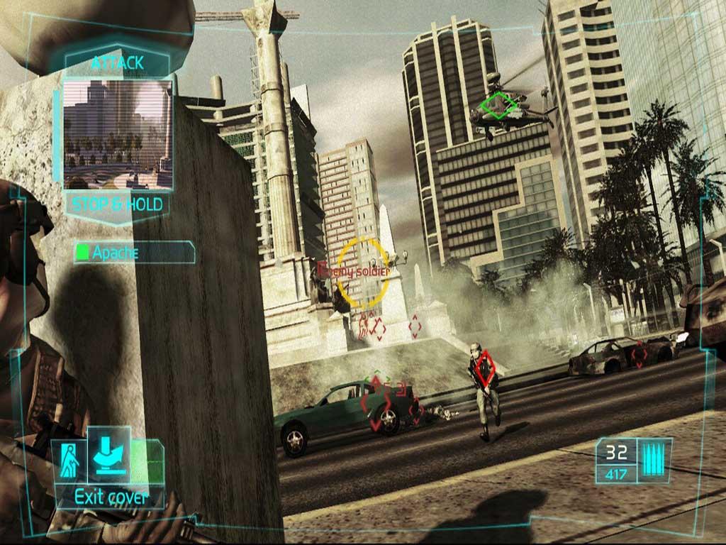 Скриншот Tom Clancy's Ghost Recon: Advanced Warfighter (2006) PC