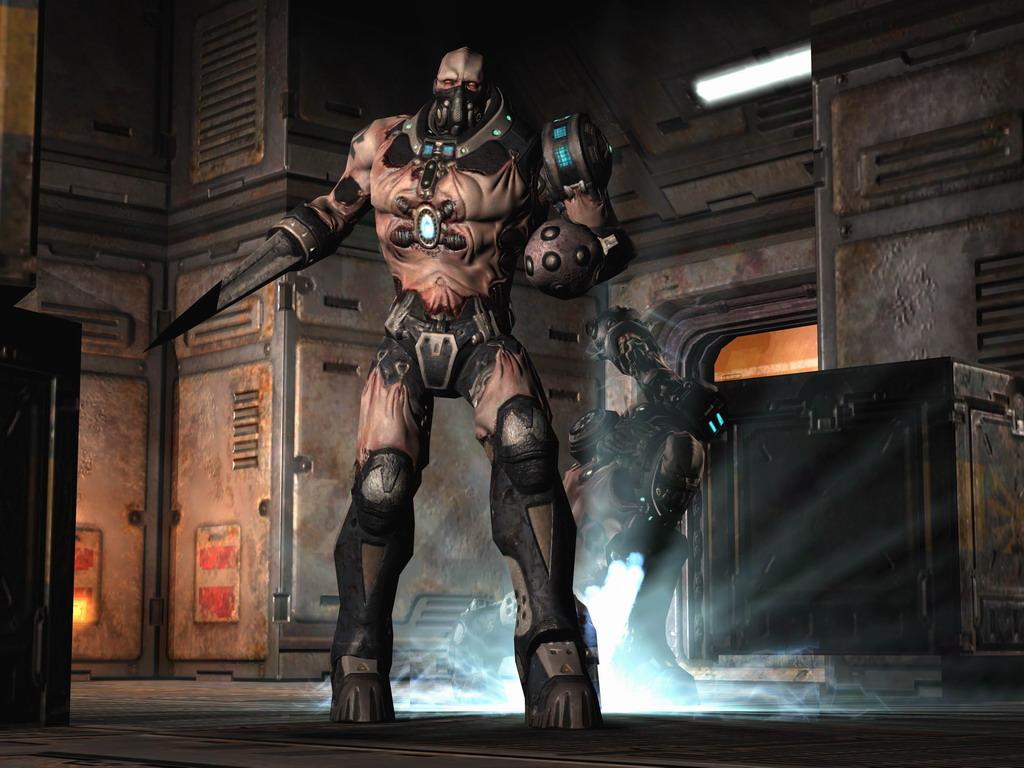 Скриншот Quake IV (2005) PC