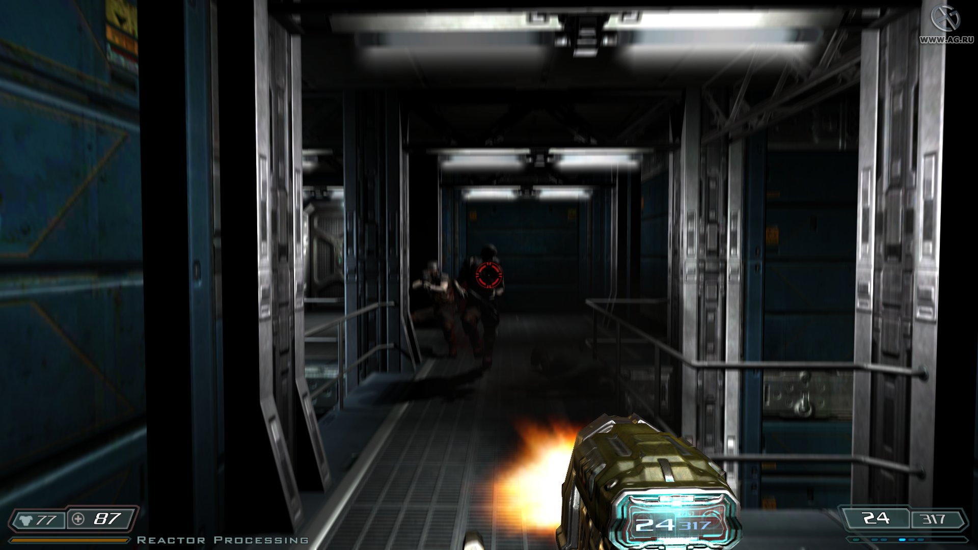 Скриншот Doom 3 (2012) PC