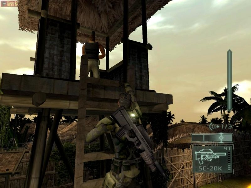 Скриншот Tom Clancy's Splinter Cell: Pandora Tomorrow (2004) PC