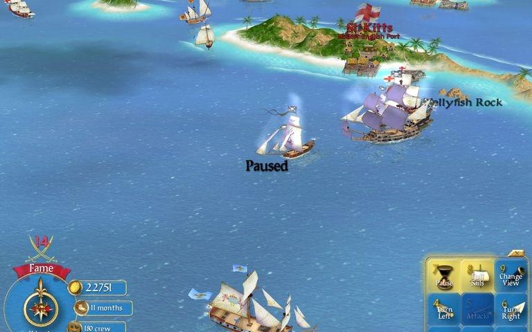 Скриншот Sid Meier's Pirates! (2004) РС