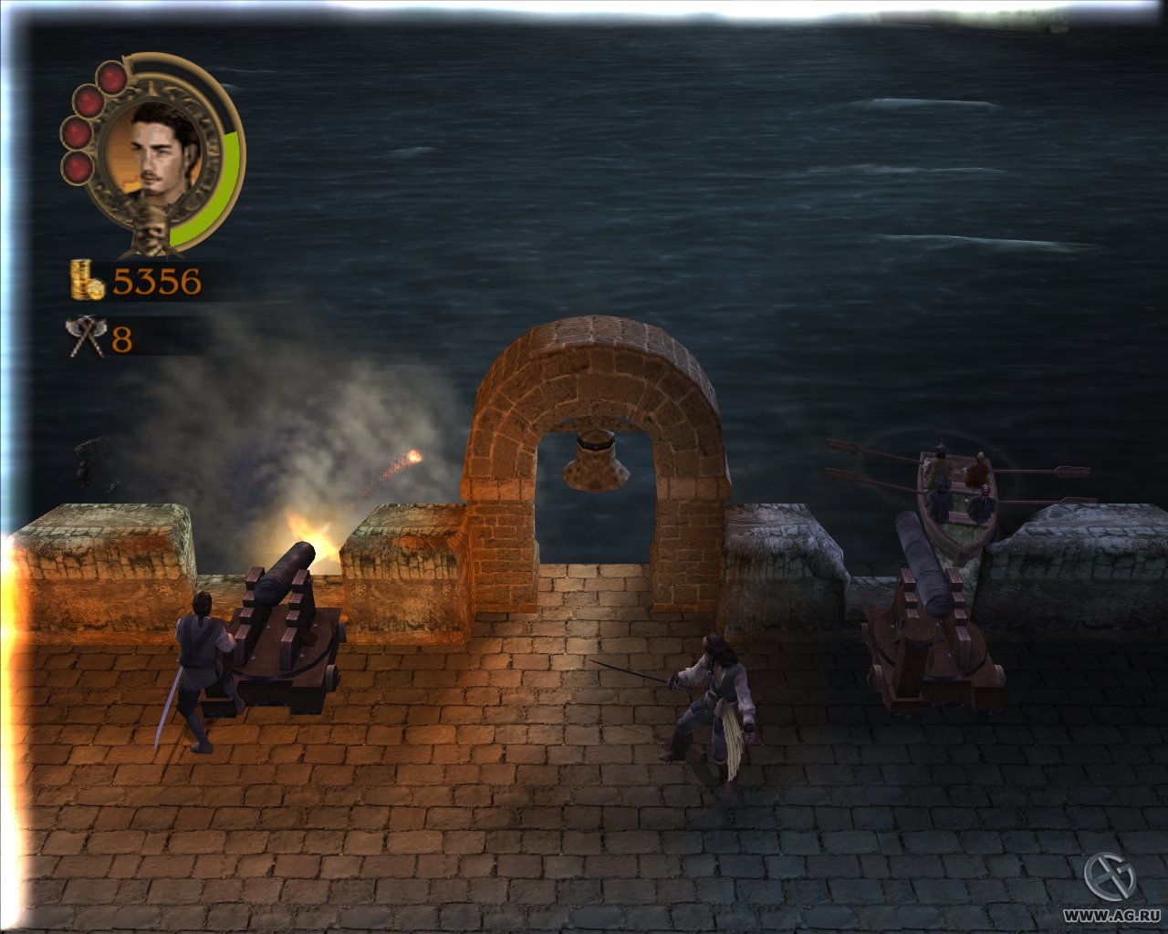 Скриншот Pirates of the Caribbean: The Legend of Jack Sparrow (2006) PC