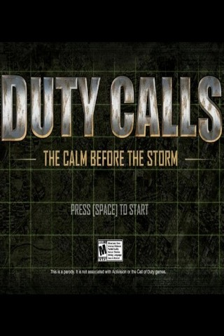 Duty Calls: The Calm Before The Storm (2011) PC