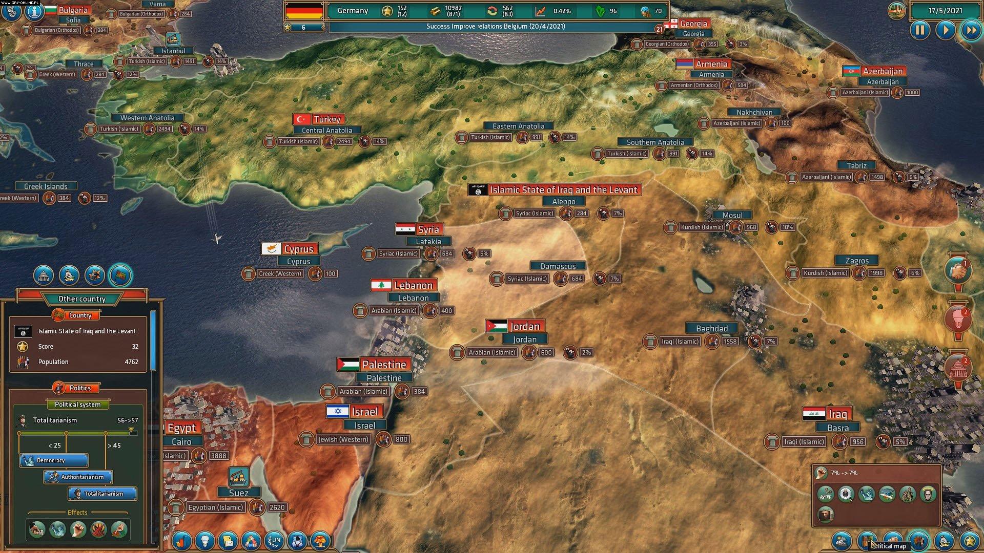 Скриншот Realpolitiks (2017) PC