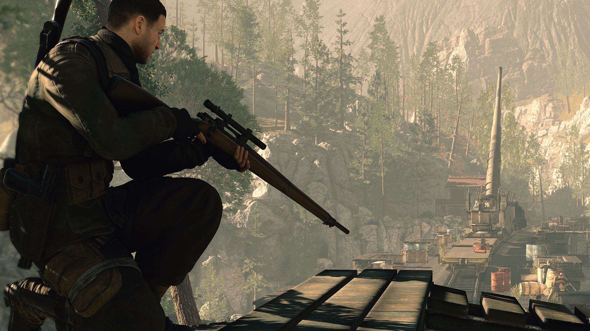 Скриншот Sniper Elite 4: Deluxe Edition [v.1.5.0] (2017) PC