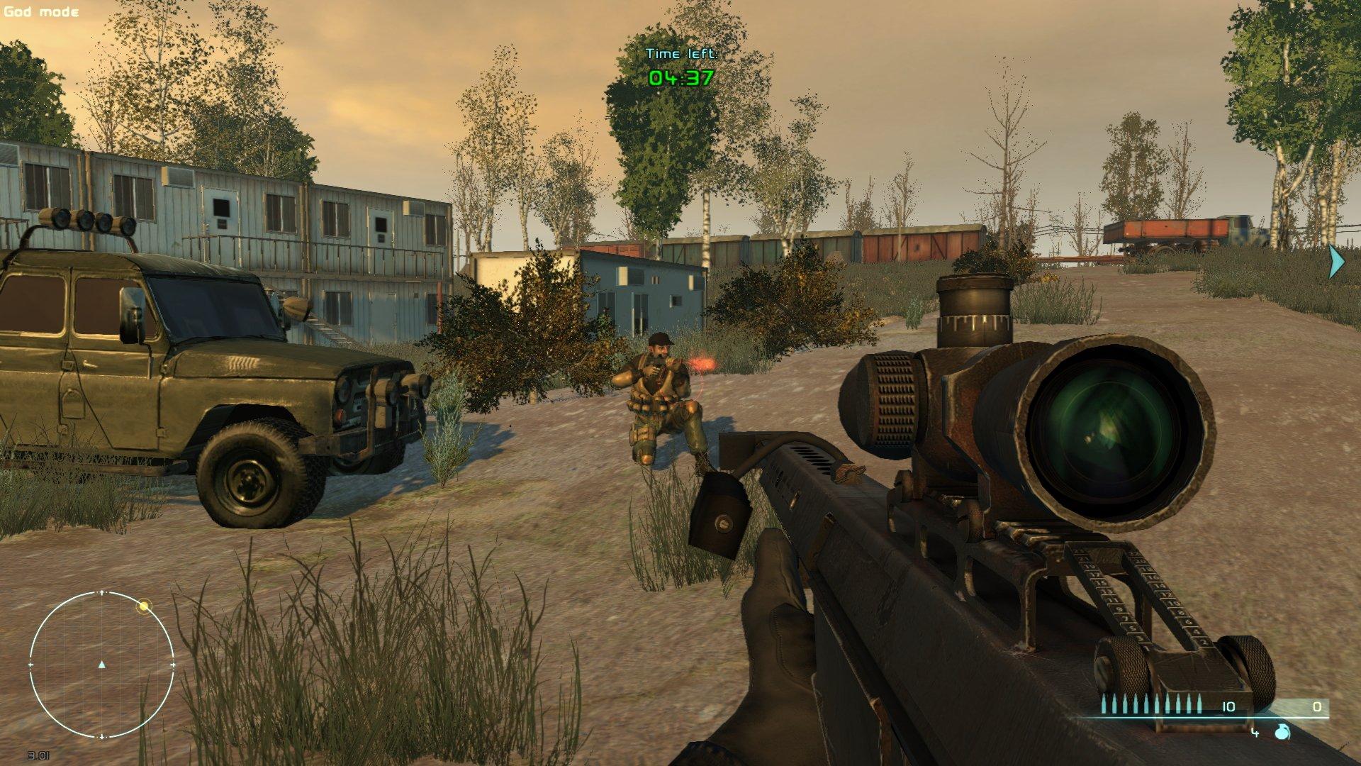 Скриншот Sniper: The Manhunter (2012) РС