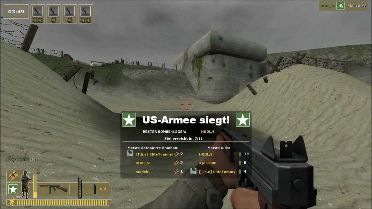 Скриншот Day of Defeat: Source (2011) РС