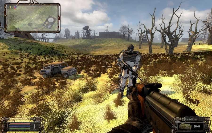 Скриншот S.T.A.L.K.E.R. - World of Liberty (2011) РС