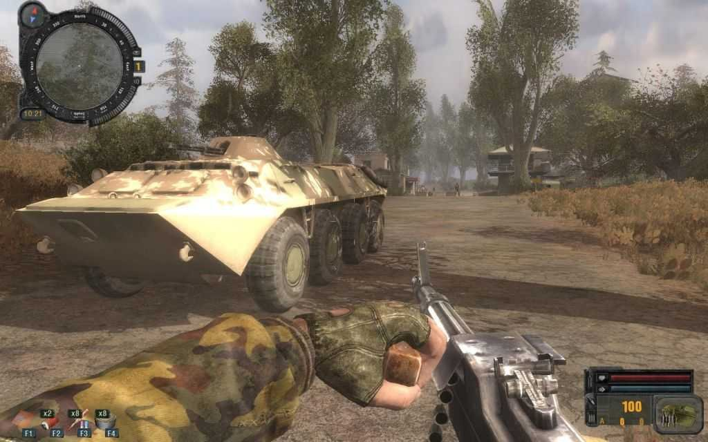 Скриншот S.T.A.L.K.E.R.: Зов Припяти - Новые территории (2011) РС