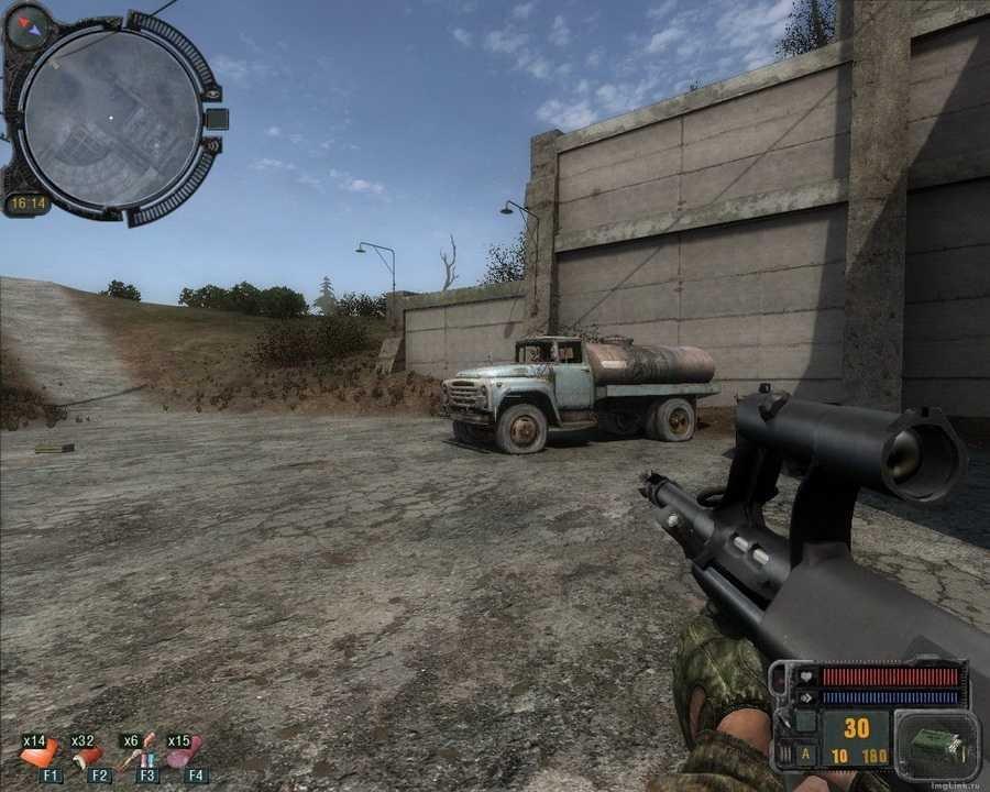Скриншот S.T.A.L.K.E.R.: Зов Припяти - Оружейный Мод (2011) РС