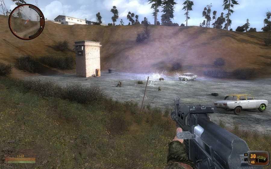 Скриншот S.T.A.L.K.E.R.: Зов Припяти - N.E.X.T. (2011) РС