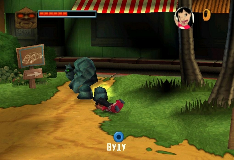 Скриншот Lilo and Stitch: Trouble in Paradise (2003) PC