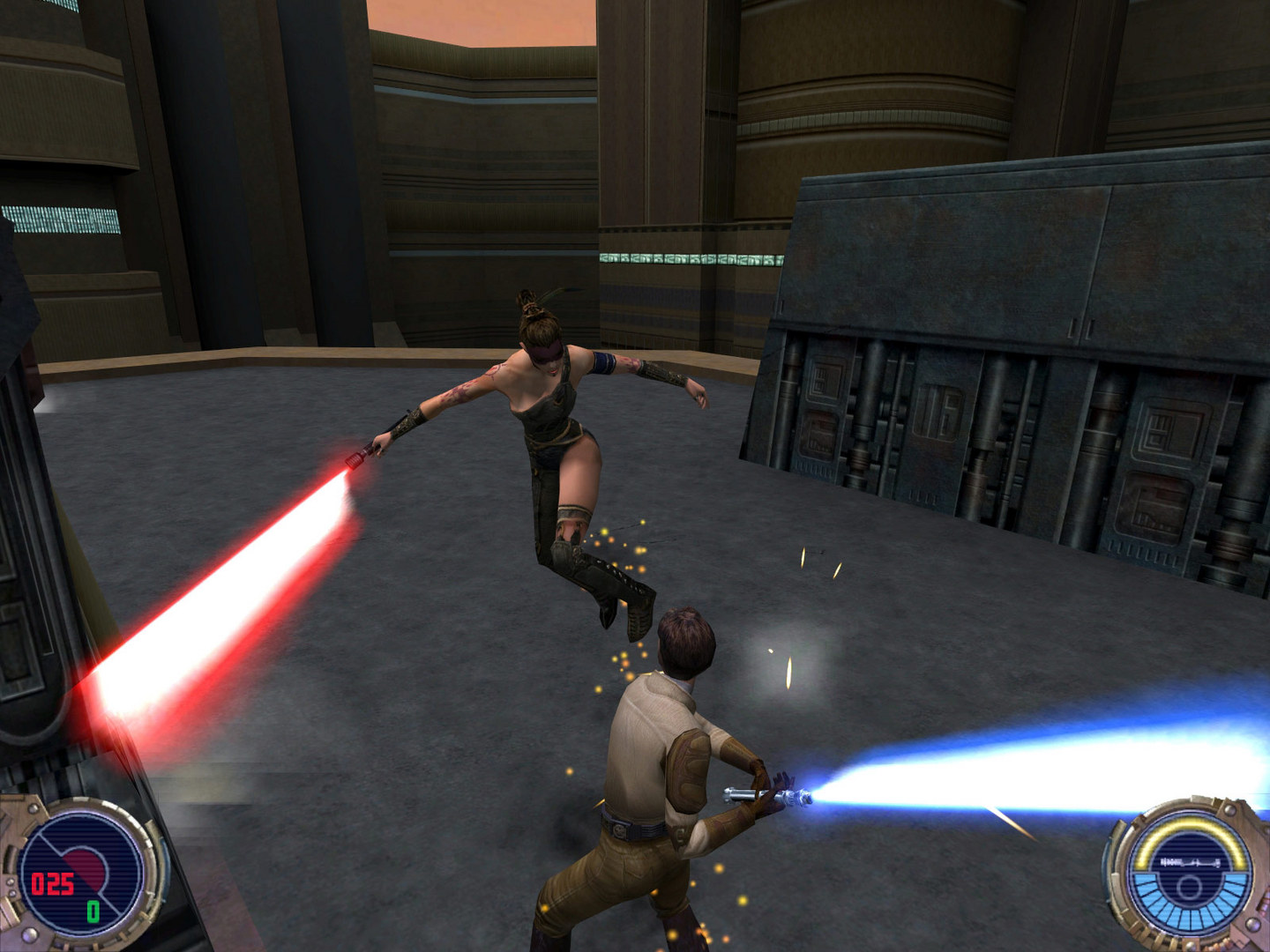 Скриншот Star Wars: Jedi Knight II: Jedi Outcast (2002) PC