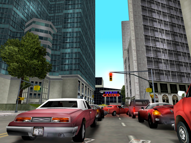 Скриншот Grand Theft Auto III (2002) PC