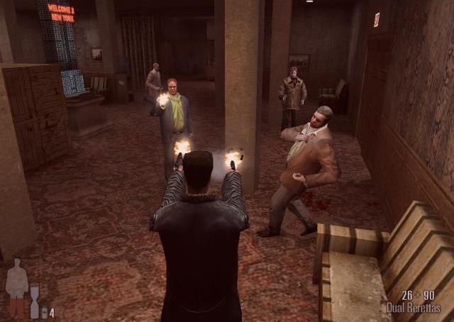 Скриншот Max Payne (2001) PC