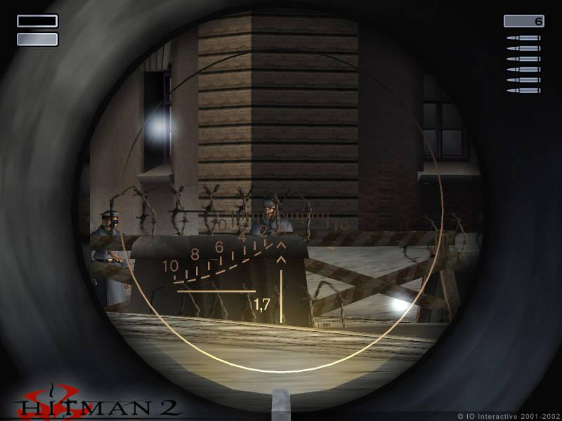 Скриншот Hitman 2: Silent Assassin (2002) PC