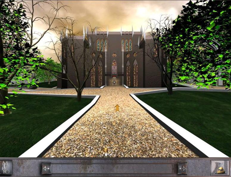 Скриншот Таинственный отель 2: Заколдованный замок (2000) PC