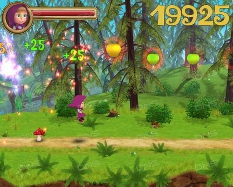 Скриншот Маша и Медведь. Догонялки (2010) PC