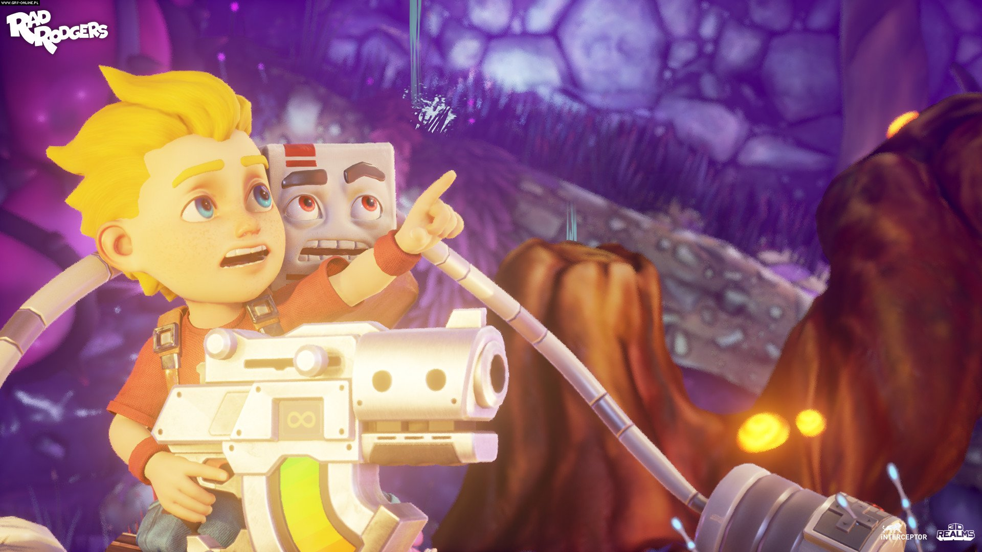 Скриншот Rad Rodgers (2018) PC