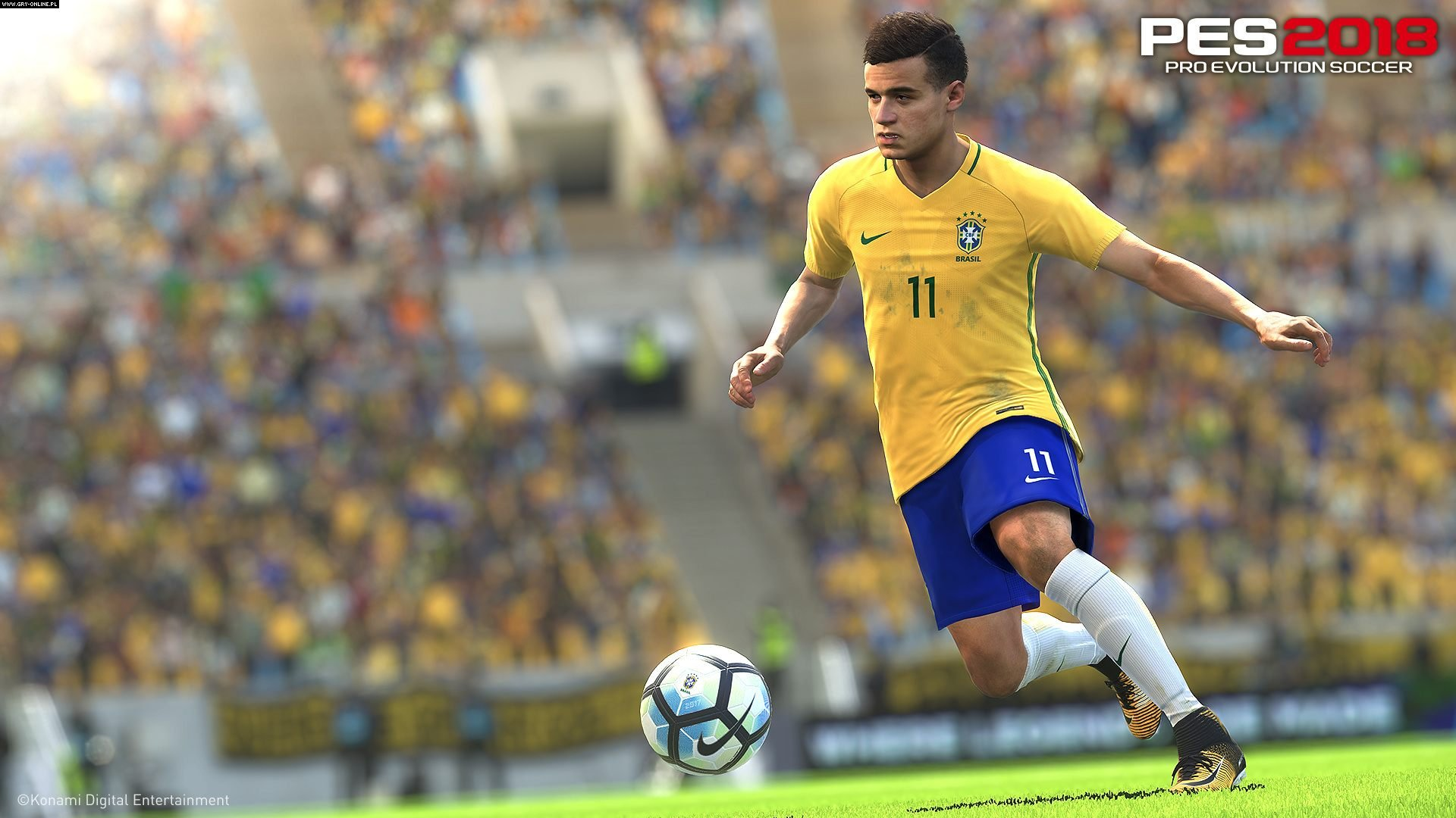 Скриншот PES 2018 / Pro Evolution Soccer 2018: FC Barcelona Edition (2017) PC