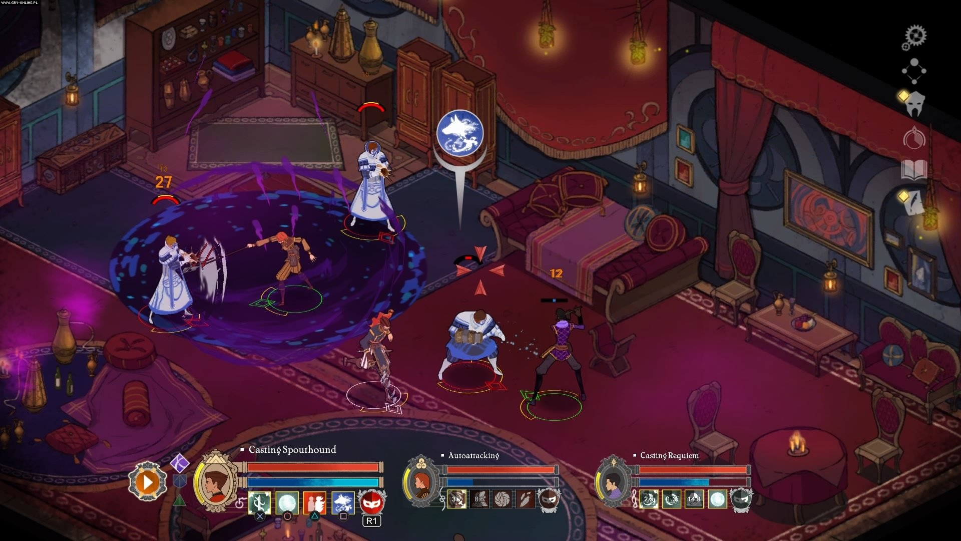 Скриншот Masquerada: Songs and Shadows (2016) PC