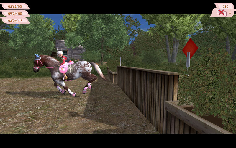 Скриншот Planet Horse: Mein grosses Pferdeabenteuer (2011) PC