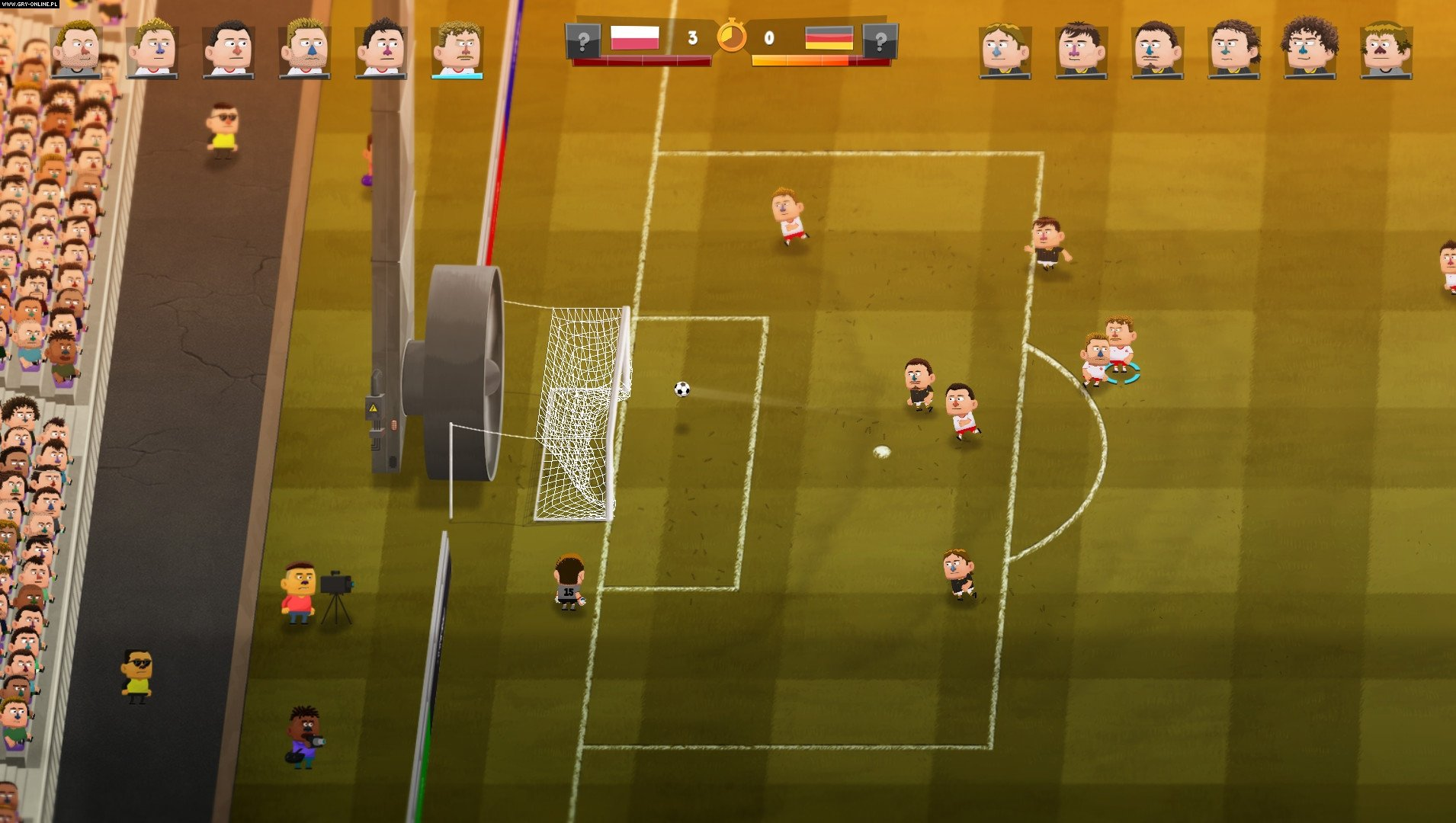 Скриншот Kopanito All-Stars Soccer (2016) PC
