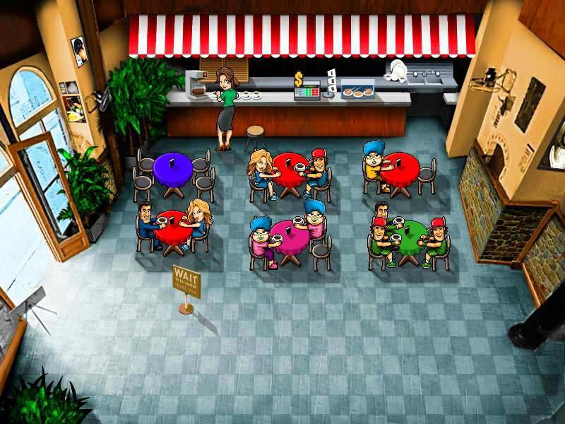 Скриншот Coffee House: Chaos (2009) PC