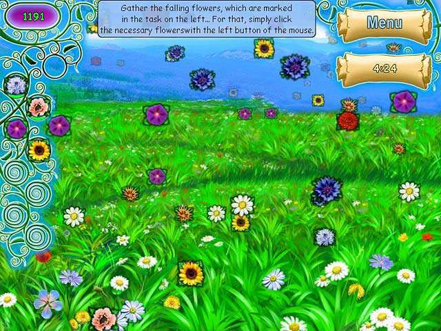 Скриншот Flowers Story (2008) PC