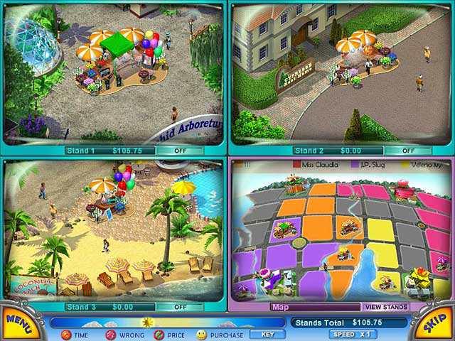 Скриншот Flower Stand Tycoon (2008) PC