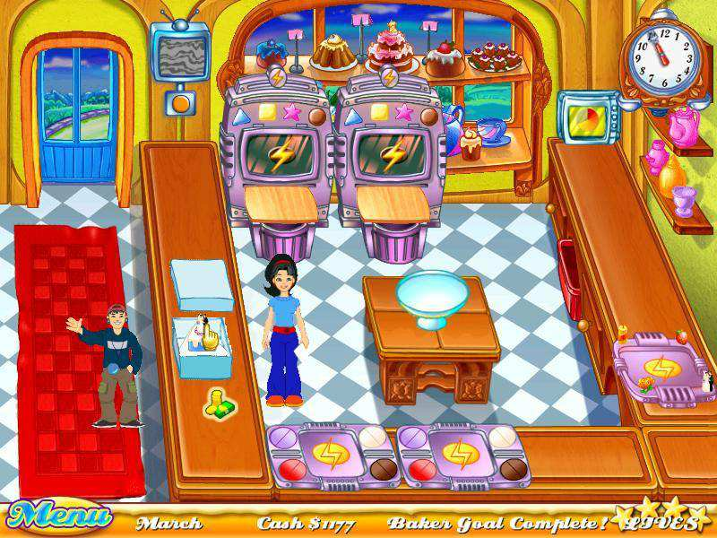 Скриншот Cake Mania: Back to the Bakery (2009) PC